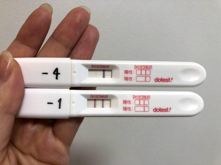 生理予定日4日後 検査薬